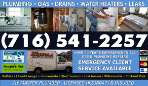 Buffalo Area Plumbing - Drains - Gas - Water Heaters - Remodeling